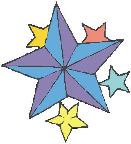 a star design